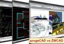 progeCAD vs ZWCAD